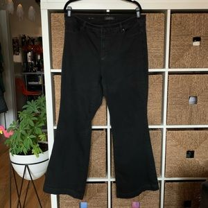 Talbots Flawless Five Pocket Flare Jeans Plus 16